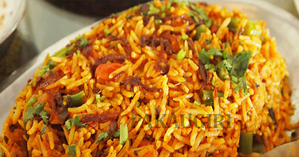 hyderabadi Veg biriyani